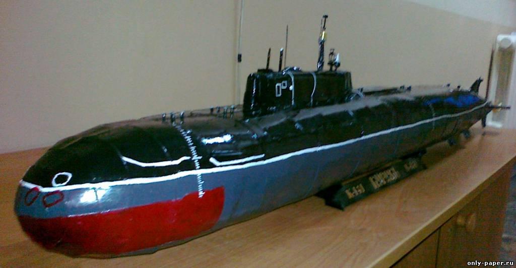Подводная лодка из бутылки своими руками
